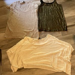 A Great Bundle of EILEEN FISHER Tops